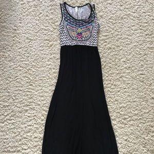 Vanilla Bay Maxi Dress. Size medium.